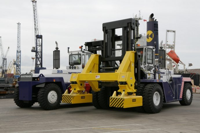 Rushlift Svetrucks at PD Ports