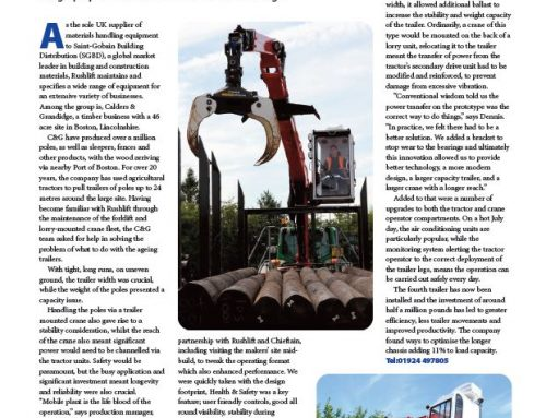 Rushlift HSS Article