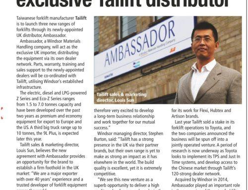 Tailift SHD Article