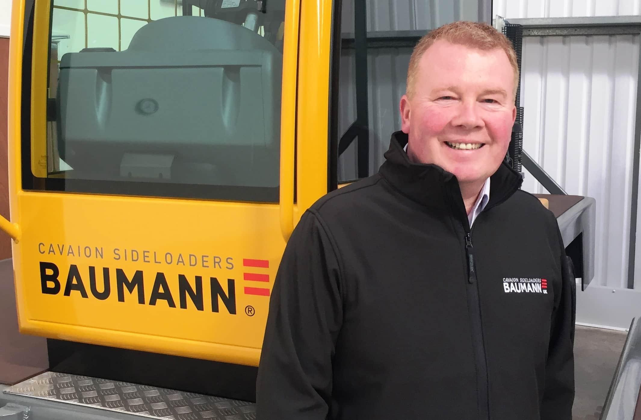 Baumann welcomes new uk dealer manager tb marketing ltd for Baumann co innendekoration