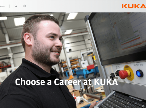 KUKA careers web copy & concept