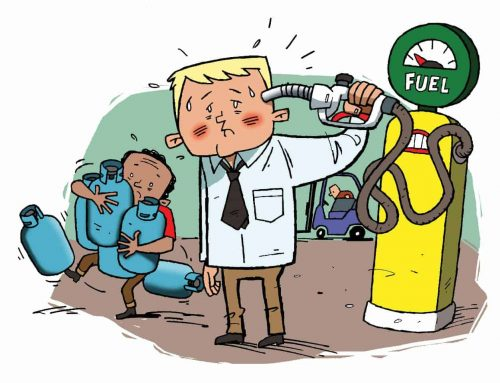 Which forklift fuel?